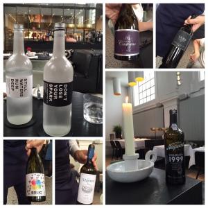 Water  bij de wijn.