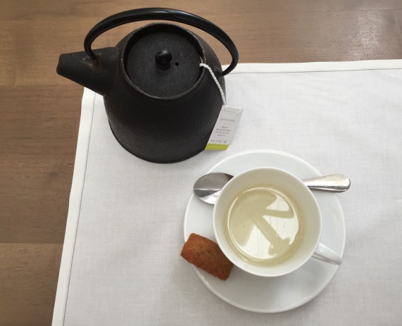 Le thé.