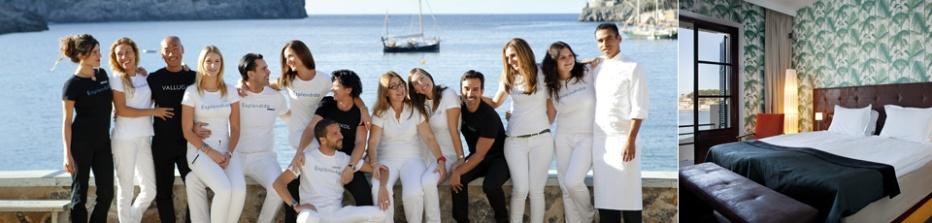 Het gastvrije team van Hotel Esplendido.