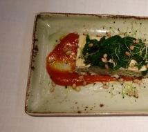 Vispaté | spinazie | tomaat