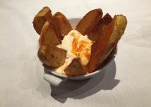 Patatas bravas 'Alibravas'.